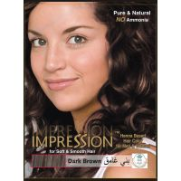 Impression Dark Brown Henna Based Hair Colour (60g)