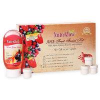 Nutriglow AHA Fruit Facial Kit With Free NutriGlow Face Wash