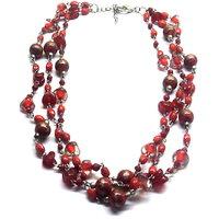 Anaaya Glass Beads Fashion Necklace