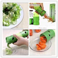 2 In1 Vegetable Shredder,Slicer,Curler,Cutter Peeler Twister,salad Decoration