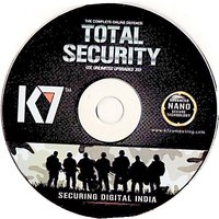 K7 TOTAL SECURITY  2PC  1 YEAR (ONE INSTALLATION CD   2 SERIAL KEYS)