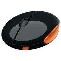 Portronics IMOOZE Wireless Mouse With Attitude(Black & Orange)