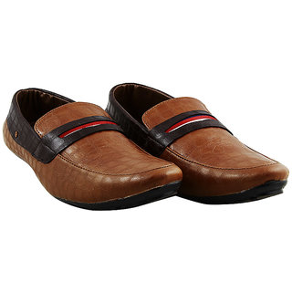 Sapphire Brown Casual Slip Shoes