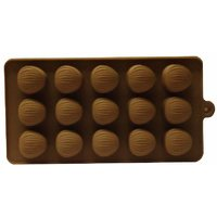 Silicon Chocolates Mould -Oval