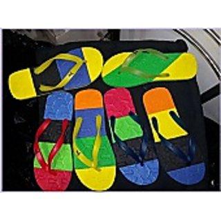 Multi Color Slipper For Daily Wear