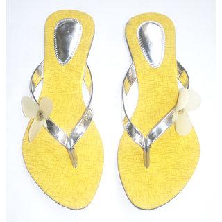Flat  Strip Slippers Combo Plus  Three Peice And Three Colour  Three Desine - 79643200