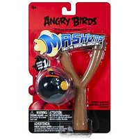 Angry Birds Tech4Kids  Mashems Power Launcher - Black Bird Toy