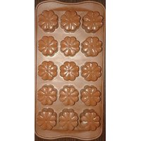 Flower Shape Silicone Chocolate Mould.