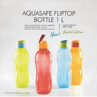 Tupperware 1 Ltd Flip Top Bottle