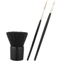 TinGe – Makeup Brush – Nail Art Brush Set (Pack Of 3) - NABS