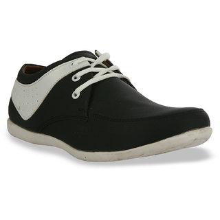 Shoe Island Black Derby Shoes BUN255-BLACK