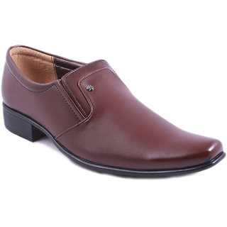 Balujas Brown Men's Formal Shoes - 80680616