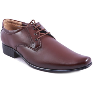 Balujas Brown Men's Formal Shoes