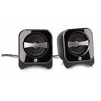 HP Multimedia Speakers USB Power Black Colour