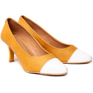 Nell Ladies Yellow Footwear ML-003-YELLOW-01