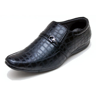 00RA SNAKE STYLE Slip On Formal Shoes For Men