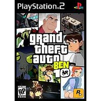 PS2 GRAND THEFT AUTO BEN 10 . PS2 GAME