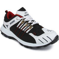 Vonc Black And White Sports Shoes