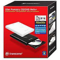 TRANSCEND 8X SLIM PORTABLE DVD/CD WRITER CD-R,CD-RW,DVDRW,24XCD READ/WRITE SPEED