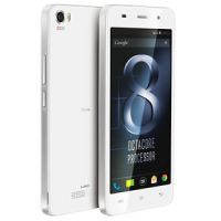 "Lava Iris X8 (white),1GB RAM,8GB Internal,5"" Screen, 1.4GHz, Octacore Processor"