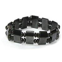 Magnetic  Round Bead Bracelet - 75(set Of 2)