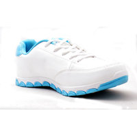 Adza White & Sky Blue Shoe