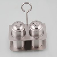 Stainless Steel Salt And Pepper Shaker Set