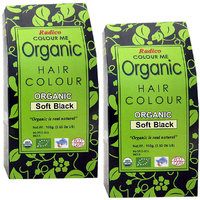 Radico Colour Me Organic Soft Black Hair Colour - 100g (Set Of 2) - 81731242