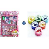 Buy Very Cute Nail Art Kit & Get Nail Polish Remover Free