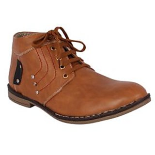 I'msparky  Men's Tan  Casual Shoes