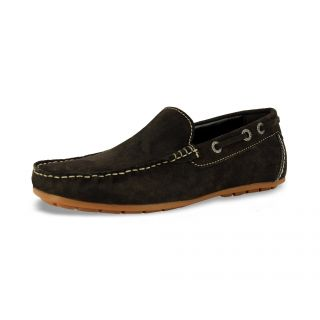 Leather Men Brown Casual Shoes (Alberto Torresi993-Brown)