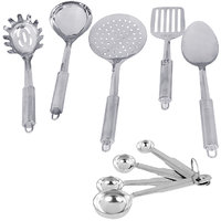 Montstar 5pc Stainless Steel Kitchen Tool Set With 4pc Measuring Spoon Set