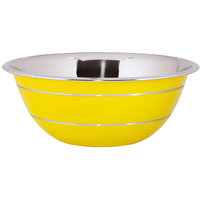 Montstar Professional Stainless Steel Deep Mixing Bowl Yellow 20 Cm
