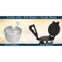 Combo Of Chapati Maker + Dough Maker(aata Maker)