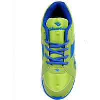 Glamour Royal Blue Parrot Green Sports Shoes (ART 3038)
