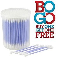 Cotton Ear Buds Pack Of 2 , 200 Sticks