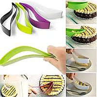 Premier Plastic Kitchen Ergonomic Design Cake Pastry Server Cutter And Slicer