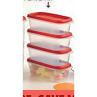 Tupperware Smart Savers #1 (500ml) Storage Containers (Set Of 4)