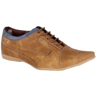 George Adam Men'S Tan Casual Shoe NH012-TAN