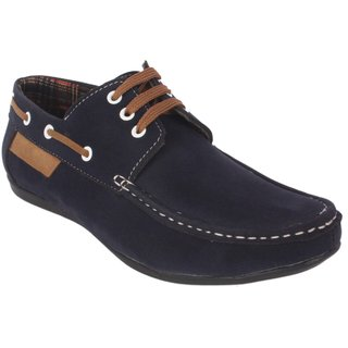 George Adam Men'S Blue Casual Shoe Ch2216-blue
