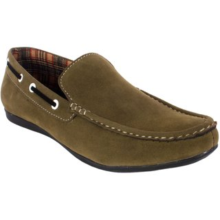 George Adam Men'S Green Casual Shoe Ch2201-green