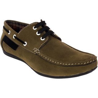 George Adam Men'S Green Casual Shoe Ch2216-green