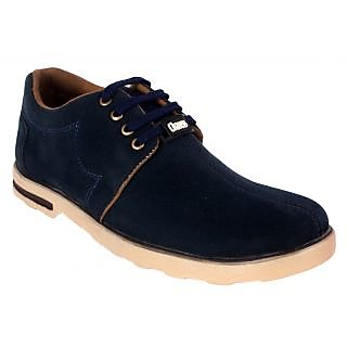 George Adam Men'S Blue Casual Shoe Ch2001-blue