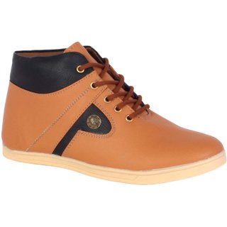 George Adam Men'S Tan Casual Shoe YP005-TAN