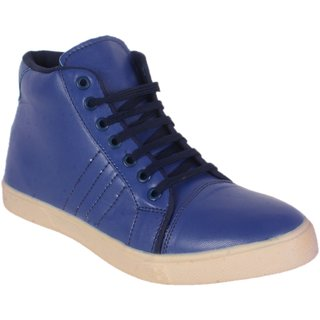 George Adam Men'S Blue Casual Shoe YP002-BLUE