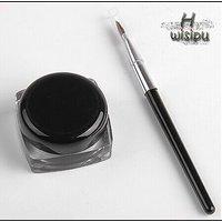 New Cosmetic Waterproof Eye Liner  Make Up Black Liquid Shadow Gel