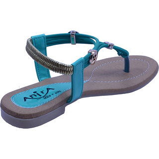 Anira Fashion- Nature Green Sandals  / For Women And Girls (Formal & Casual)