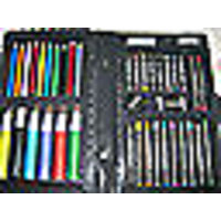 All In One 42 Pcs Color Set - Color Pencil - Crayons - Oil Pastel - Sketch Pens
