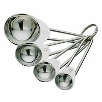 King - International Stainless Steel Measuring Spoon Set Of 4 Pcs