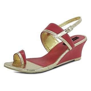 Get Glamr Designer Red Sandals